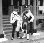 Piper Jock Winton and me 1956