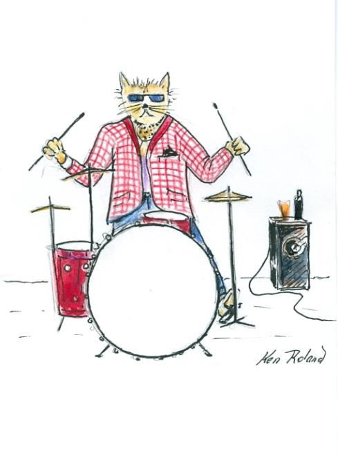 #LISSEN.  Cool cat #3 announces 'My Rock 'N' Roll Daze.
